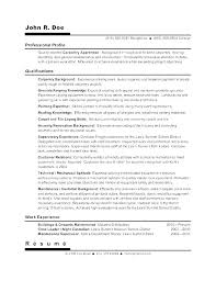 Childcare Resume Template