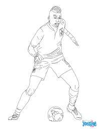 Coloriage Du Joueur De Foot Paul Pogba Imprimer Gratuitement Ou