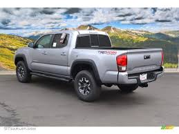 Silver Sky Metallic 2016 Toyota Tacoma TRD Off-Road Double Cab 4x4 ...