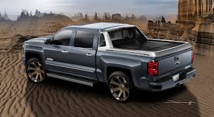 Introducing the Chevy Silverado 1500 High Desert SEMA Show Car - The ...