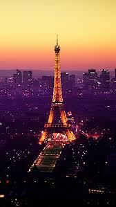 Paris At Dusk Wallpaper