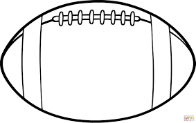 Small Picture American Football Ball coloring page Free Printable Coloring Pages