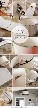 Diy Kitchen Lighting Fixtures 17 Best Ideas About Drum Lighting On Pinterest Music Furniture