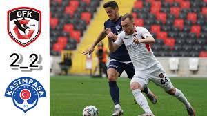 Gaziantep fk 2_2 Kasımpaşa maç özeti - YouTube