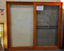 sliding door with fly screen 2410 x 2100