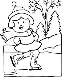 Coloriage Hiver 8 Imprimer Pour Les Enfants