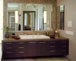 double sink vanity mirror brilliant 48 inch bathroom contemporary with brown regard to 21