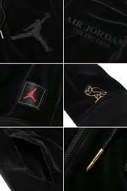 jordan velour hoodie. nike jordan x ovo velour f/z hoody (010-black/metallic gold jordan velour hoodie