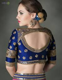 Saree Blouse Designs Front And Back 2017 Pin By Ritumahesh Shownkani On Blouse In 2019 Sari Blouse