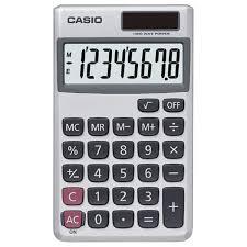 com casio sl sv solar powered standard function com casio sl 300sv solar powered standard function calculator basic office calculators electronics