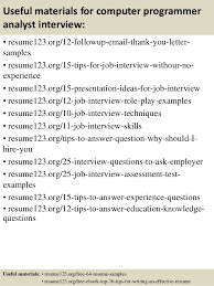 occupational therapist assistantphysiotherapist assistant programmer analyst resume sample