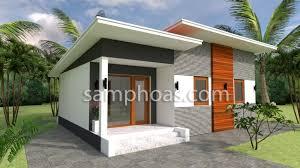 Plan 3d Home Design 9x7m 2 Bedrooms - SamPhoas Plan | Architectural design  house plans, 3d home design, House layout plans