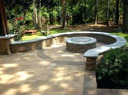 Backyard Paver Designs Custom Best Pavers For Patio Patio Designs With Fire Pit Patio Pavers