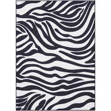 small zebra print rug area ideas