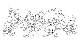 Small Picture Ninjago Coloring Pages Coloring Page
