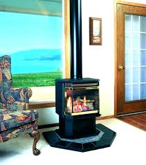 free standing fireplace freestanding glass