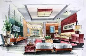 interior decoration living room. Draw Interior Design Captivating Designer Drawings Decoration Living Room I