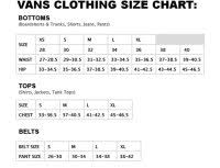 Vans Clothing Size Chart Boys Vans Toddler Shoes Size Chart