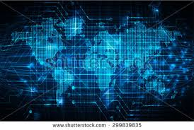 Background For Computer Blue Matrix Background Vector Download Free Vector Art Stock