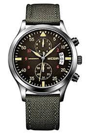 best military watches uk tactical watch reviews yisuya military nylon band chronograph waterproof wrist watches army green men sports quartz watch