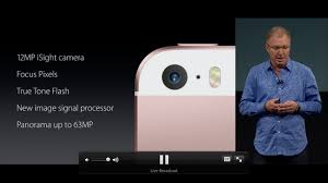 iphone se camera live