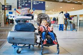 flying with car seats and strollers