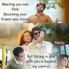 Love Quotes In Tamil Movie Remo Hover Me Impressive Tamil Movie Quotes About Friendship