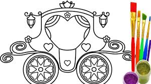 Small Picture How to Draw Princess Vehicle Coloring Pages Teach Kid Drawing