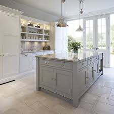 manchester shaker style with nickel pendant lights kitchen transitional and polished