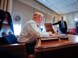 air force one office.  office trump was u0027in aweu0027 of his first flight on air force one  business insider to office
