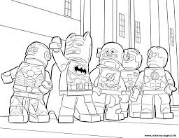 Lego Superhero Coloring Pages - diaet.me