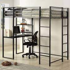 twin loft bed frame bunk bed