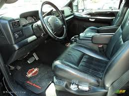 Black Interior 2004 Ford F250 Super Duty Harley Davidson Crew Cab ...
