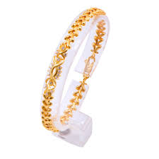 Joyalukkas Gold Bracelets Designs With Price Joyalukkas Impress Collection 22k Yellow Gold Charm Bracelet For Women