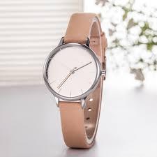 china minimalist brand luxury women simple leather strap quartz watch wy 087 china wrist watch watches