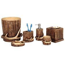 Mountain Decor Accessories Buck Mountain Antler Bath Accessories 31