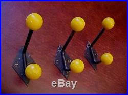 Atomic Coat Rack Vintage Retro Sputnik ATOMIC COAT HOOKS Wooden Balls Rack 100s 100s 28