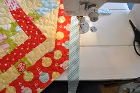 Binding Odd Angles   Trends and Traditions & Now turn the quilt, so that the next side to be sewn is running parallel to  your sewing foot as shown. Adamdwight.com