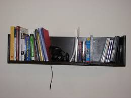 Wall To Wall Bookshelf How To Build Wall Mounted Bookshelves For Less Than 100 8 Steps