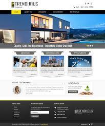 Property Developer Website Design Professional Modern Real Estate Development Web Design For