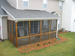 image of screen porch kits plans