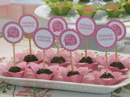 party decoration ideas for 1st birthday. elephant 1st birthday party via kara\u0027s ideas | karaspartyideas.com #elephant #party decoration for f