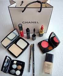 chanel new brand 9 piece makeup set eyeshadow eyeliner lipstick blusher maa
