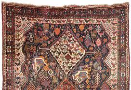 antique south persian rug thick high pile rous wool and beautiful soft colors