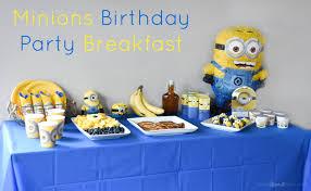 Minion Birthday Party Minions Birthday Party Breakfast Plus Minions Pancakes Recipe