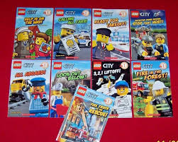 9 Lego City Readers Level 1 Books Pre-K-1st Grades Scholastic Early  Beginning