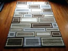 gray and brown area rug grey and brown rugs excellent 6 x 9 contemporary area