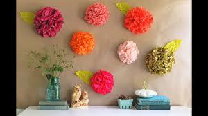 Blumen Aus Krepppapier Blumen Aus Krepppapier Basteln Youtube