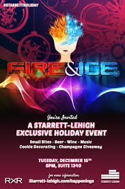 Fire And Ice Decorations Design You're Invited A StarrettLehigh Exclusive Holiday Event Fire 30