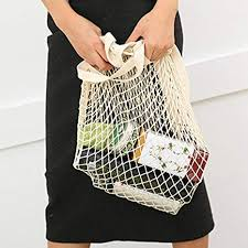 wondergirls Functional Large <b>Mesh Shopping Bag Durable</b> ...